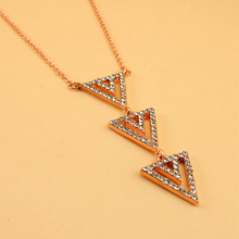 Famous Brand Stella Choker Necklaces Bijoux Letter SD Gold Silver And Rose Gold Dot Pave Spear Necklaces & Pendants For Women(China (Mainland))