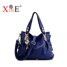 The new 2016 European and American fashion trendy female bag one shoulder oblique cross bag portable leisure packages hand bags