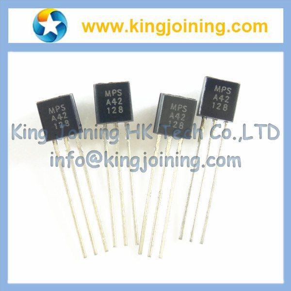 MPSA42 TO-92 NPN Transistors A42 100pcs/bag(China (Mainland))