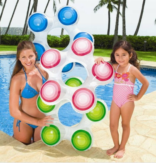 Free shipping 74*71cm PVC Star-Styling Swimming Rings Children Inflatable Life Buoy suit for 3-6years old(China (Mainland))