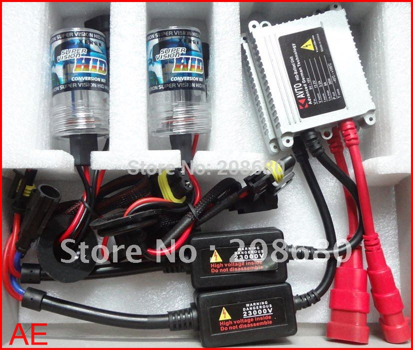 H1 H3 H4 H7 H8 H9 H10 H11 9004 9005 9006 9007 880 881H27 Single beam HID KIT SET35W XENON SYSTEM DC12V conversion AESHIPPING - KALAWA store