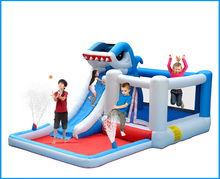 Shark Castle Inflatable Pool Bouncy Jumping House Indoor & Outdoor Inflatable Water Slides For Sale(China (Mainland))