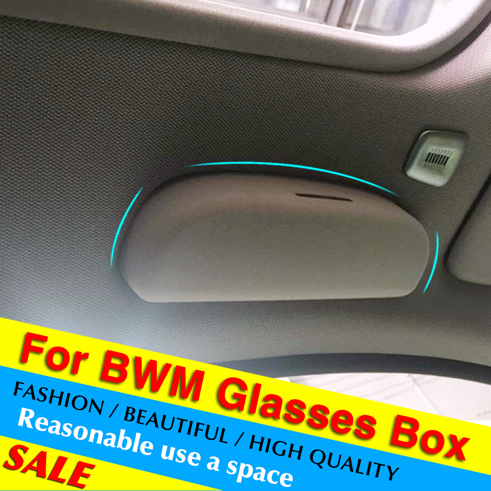 Car Front sun glasses case Box For BMW 1/3-SERIES F30 F34 320 328 X1 X3 X5(China (Mainland))