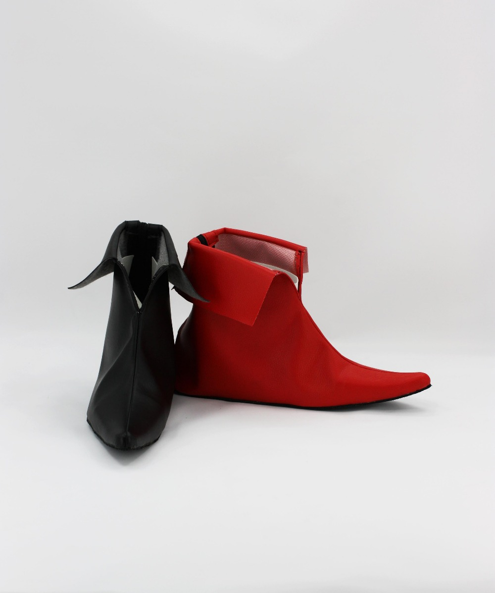 haute qualit batman arkman harley quinn cosplay film costume chaussures bottes custom made pour. Black Bedroom Furniture Sets. Home Design Ideas
