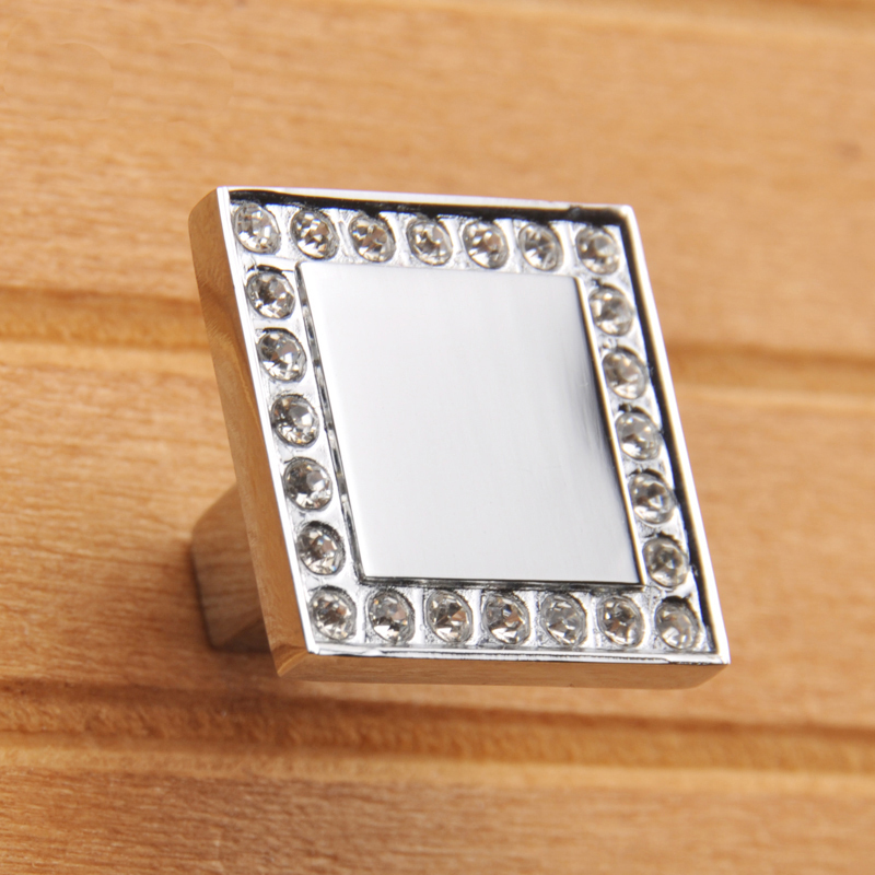 High Quality Furniture Hardware Accessories Crystal Decorative Cabinet Knobs And Handles Drawer