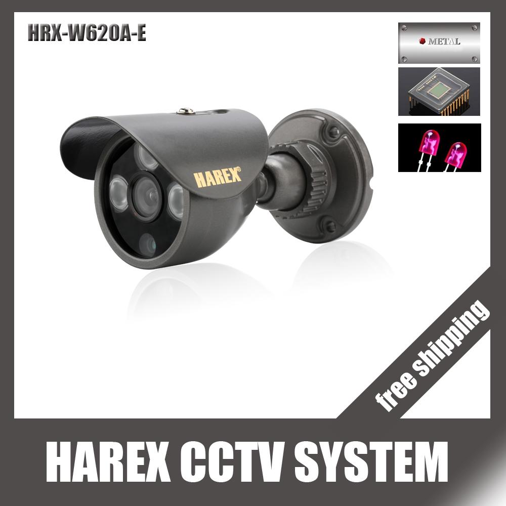 "1/3"" Sony Effio-e 700TVL 960H 3pcs Array IR LEDS outdoor/indoor waterproof Security CCTV Camera with bracket.Free shipping(China (Mainland))"