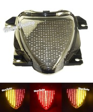 E-Marked Tail Brake Turn Signals Integrated Led Light Smoke For 2006-2015 2009 2012 2014 SUZUKI Boulevard M109R VZR1800 M1800R(China (Mainland))