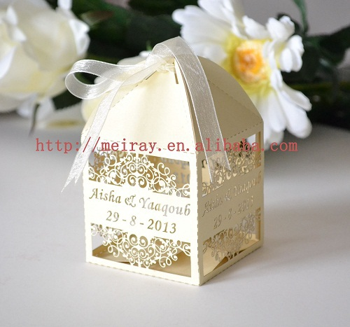 Wedding Gift List Uae : gold&white wedding/ graduation party favors,Arabic candy box UAE ...