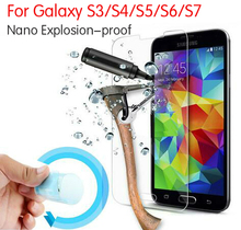 Buy 3x New Nano Explosion-proof Screen Protector Guard Foil Cover Film Samsung Galaxy S3 S4 S5 S6 S7 S7 Edge Tempered Glass for $3.86 in AliExpress store
