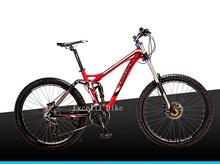 "Excelli Bike 26""*17"" Mountain Bike 27 Speeds Full Suspension Mountain bicycle Aluminium Alloy Downhill Bicicletas Mountainbike(China (Mainland))"