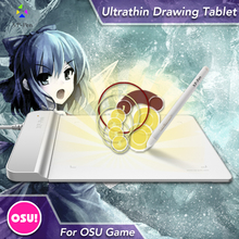 The XP-Pen G430 4 x 3 inch Ultrathin Graphic Drawing Tablet/Pen Tablet for OSU with Battery-free stylus- designed White
