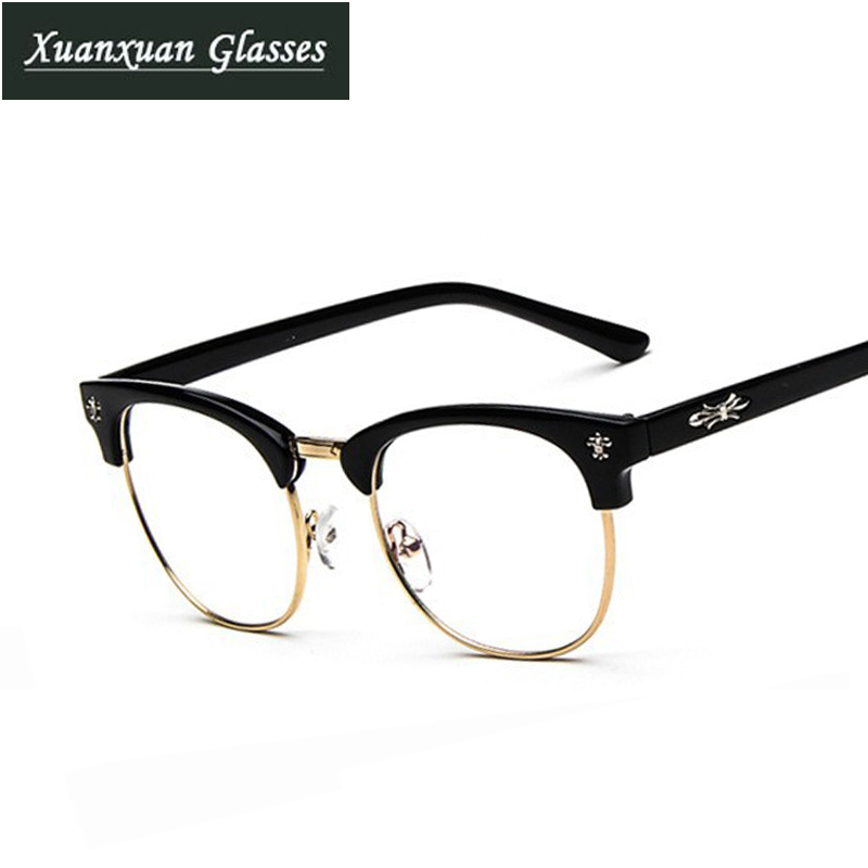 Glasses Frames For Men : 2015 Newest Brand Designer Retro Clear Eyeglasses Frames ...