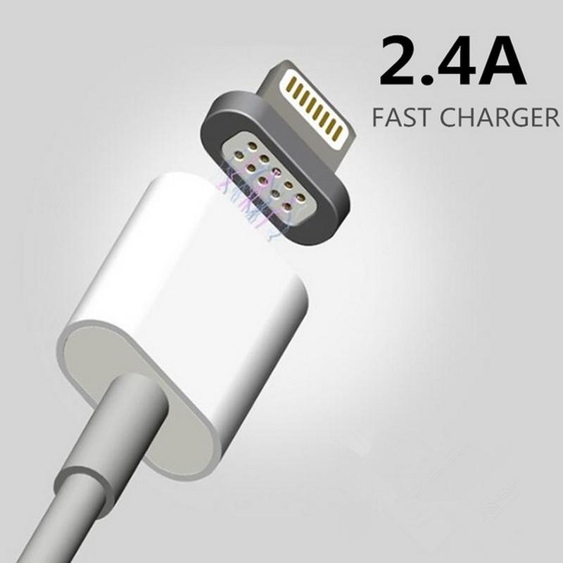 EastVita 2.4A Magnetic Micro USB Data Cable Samsung HTC LG Android Phones Fast Charging Sync Charger Cord AR30