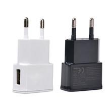 5 В 1A ес подключите зарядное устройство универсальный адаптер дома зарядное устройство USB для Iphone Samsung Galaxy S5 S4 S3 примечание 2 3 HTC Xiaomi