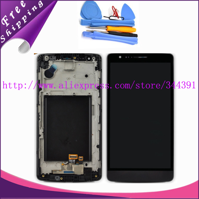 tested Original For LG Optimus G3 mini D722 D724 Lcd Display Screen+Touch Digitizer with frame Assembly +Tools Free Shipping