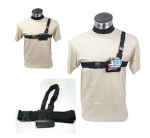 3 Points Adjustable Chest Belt  Elastic Body Strap Mount Harness Chesty Strap for Gopro Hero3+/3/2/1  Action Camera Accessories