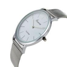 2015 Ultra-thin Lovers Watch Men Women Quartz Watches Ladies Dress Watches Brand Fashion Designer Luxury Wristwatch Relojes