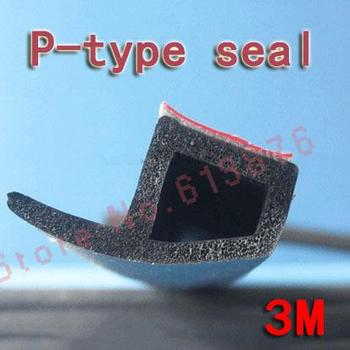 wholesale car soundproofing rubber seal car sound insulation soundbar car rubber seal p type auto seal  (100m/lot)