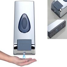 e-pak Yanksmart 5742/2 Square Design Hand Liquid Soap Dispenser Wall Mounted Shampoo Detergent detergente Box (China (Mainland))
