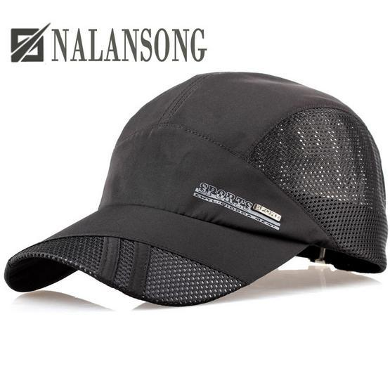 2015 quick-drying summer outdoor sun hat casquette chapeu casual sports letter mesh for men and women baseball caps(China (Mainland))