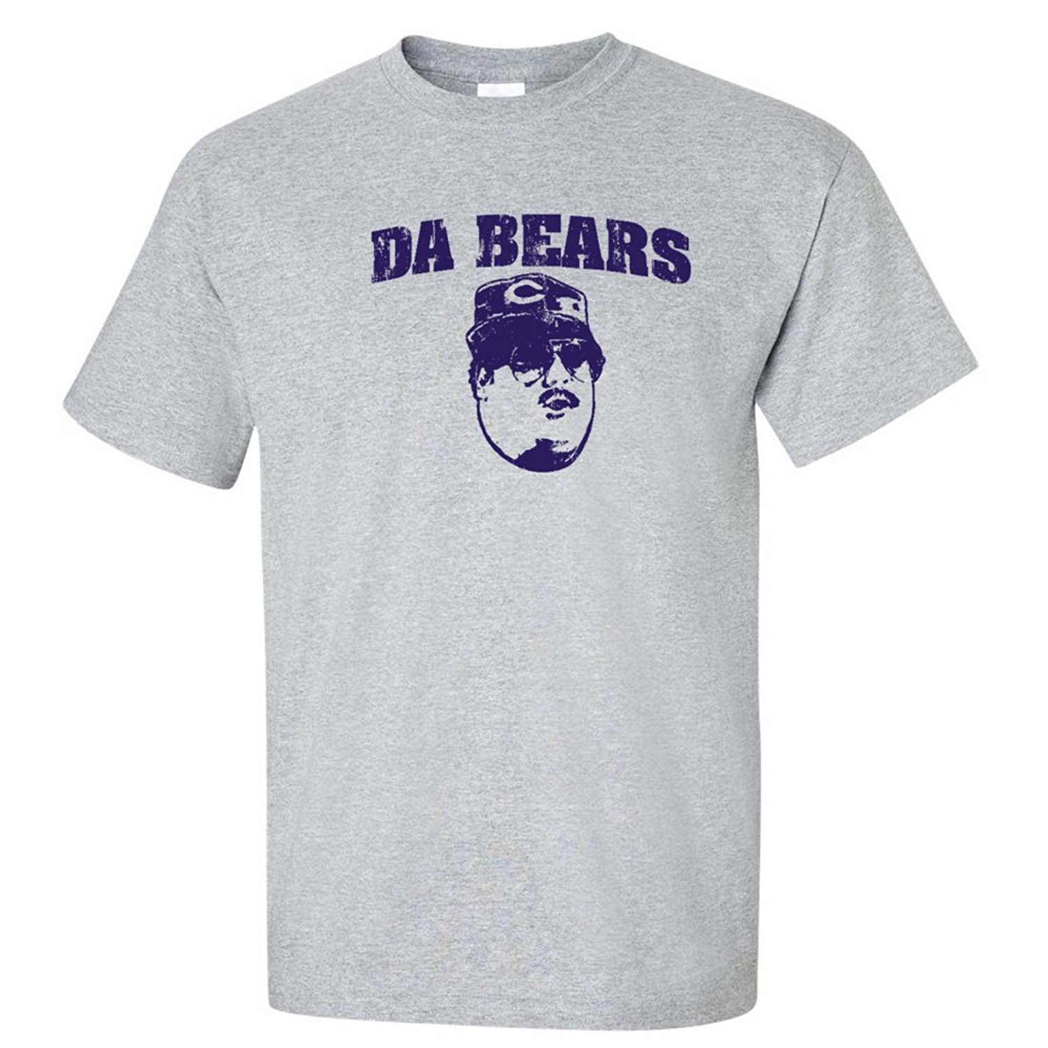 Da Bears Funny Super Fans chicago foot ball jersey MENS T-SHIRT Heather(China (Mainland))