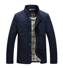 Men Jackets 2016 Business Casual Coat Cotton jacket Outerwear High Quality Chaquetas Jackets For Men(China (Mainland))