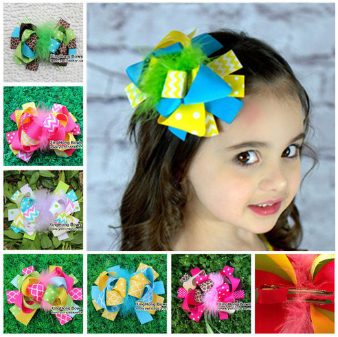 86 designs mix for yourself choose fashion feather hair bows for children accessory hair clipsОдежда и ак�е��уары<br><br><br>Aliexpress