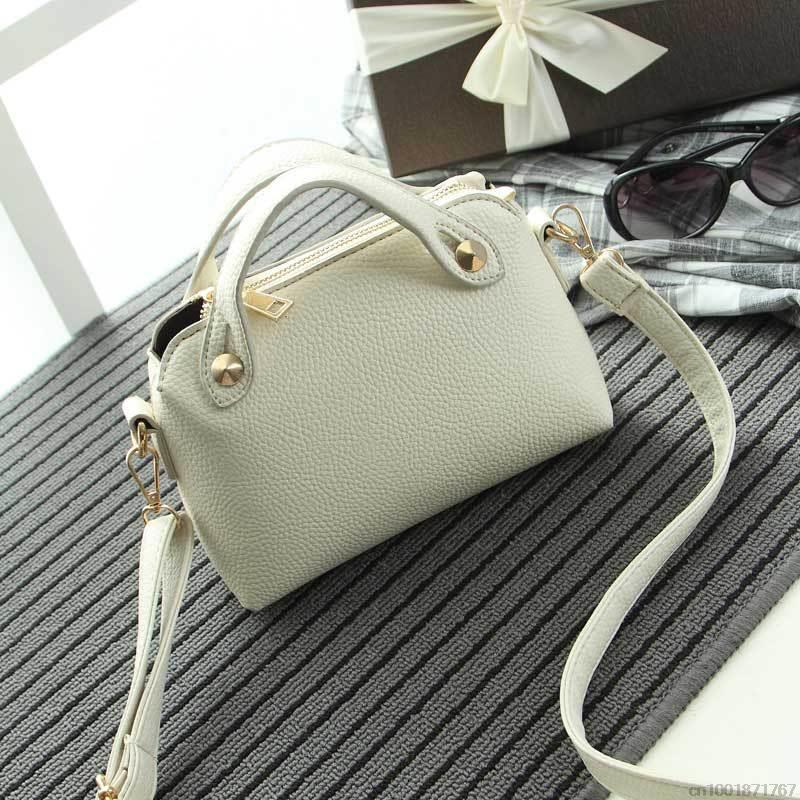 2015 rivet  brief handbag shoulder bag cross-body small bags mini bag women's handbag fashion women bag