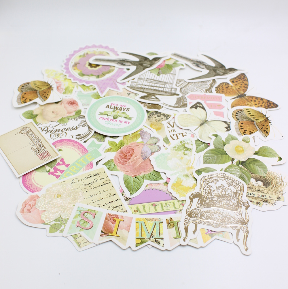 25pcs Spring Cardstock Die Cuts for Scrapbooking/Card Making/Journaling Project Planner DIY 014(China (Mainland))