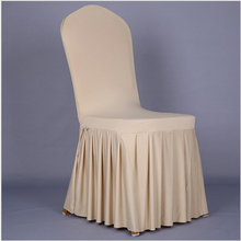 Home Chair Cover Polyester Spandex Dining Chair Covers For Wedding Party Chair Cover Brown Dining Chair Seat Covers New CCB003(China (Mainland))