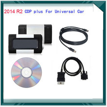 Newest version 2014 02 R2 CDP pro plus for autocom car and truck Auto Car OBD2 Diagnostic Scaner 3 IN 1  tool cdp For DS150E(China (Mainland))