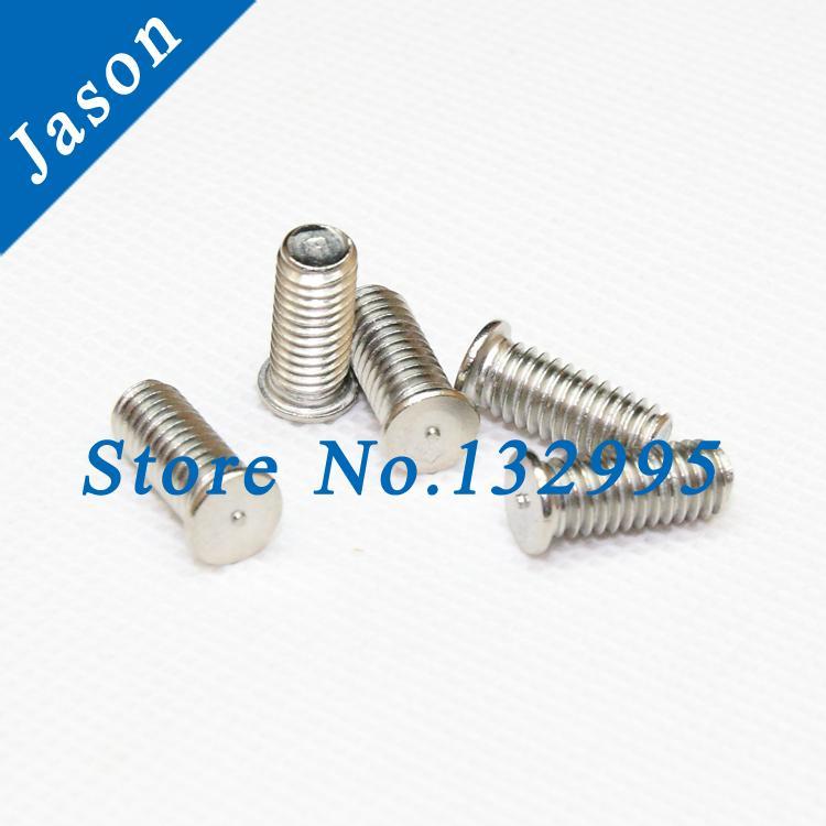 M5*15  Stainless steel A2 welding screws ISO13918 DIN32501 spot welding studs  SUS 304 welding screw M5*L<br><br>Aliexpress