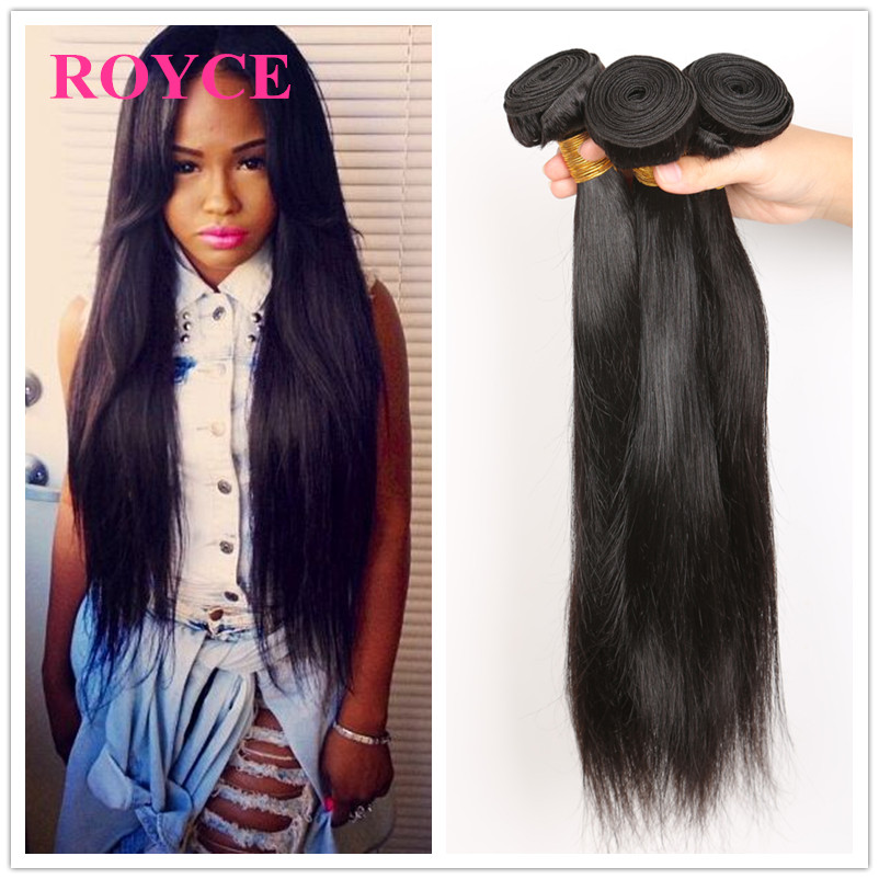 Cambodian Straight Virgin Hair 4pcs 8