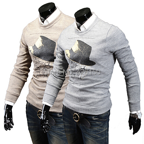 Casual Sweater New 2015 Sport Sweater Men winter fashion men's Pullovers 700MJ09(China (Mainland))