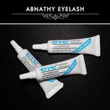 2PCS/Lot high quality makeup eyelash tool long lasting hypoallergenic latex free permanent white color eyelash glue(China (Mainland))