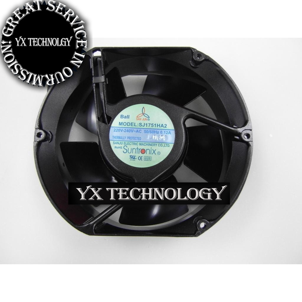 Фотография  Iron leaf fan fan SJ1751HA2 1751 high temperature axial fans 172*150*51 mm