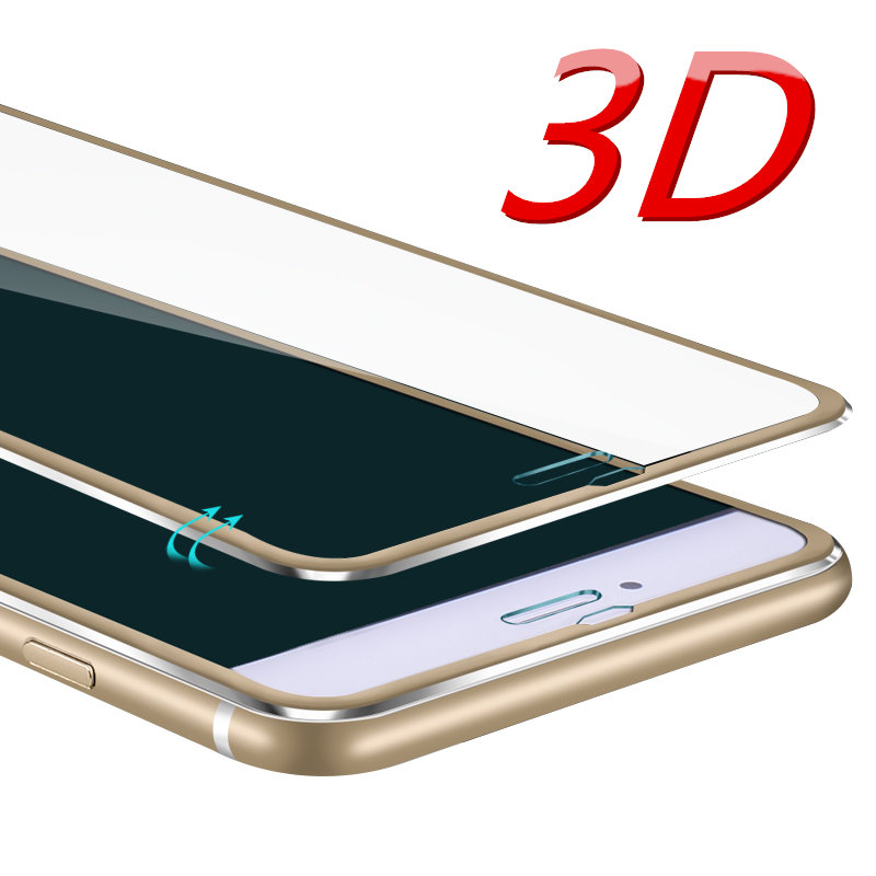 Aluminum alloy Tempered glass phone case For Apple iphone 6 6S 6 plus Mobile phone Accessories Full screen coverage cover(China (Mainland))