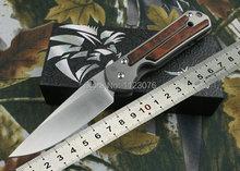 Envío gratis aleación de titanio + mango de madera OEM Chris Reeve Classic herramientas que acampan cuchillo de bolsillo herramienta de la supervivencia