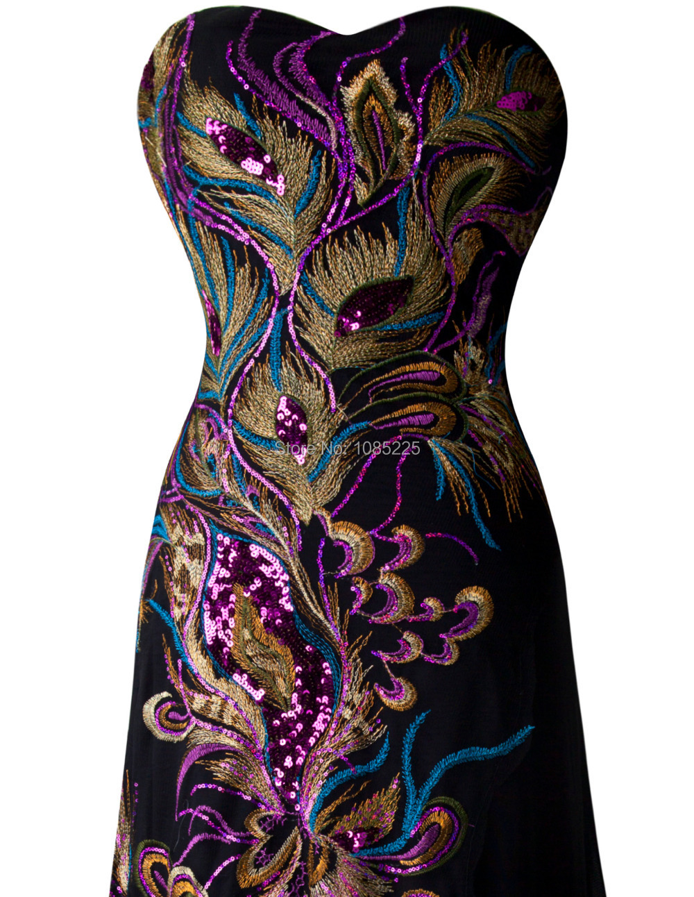Peacock embroidery designs dress imgkid the