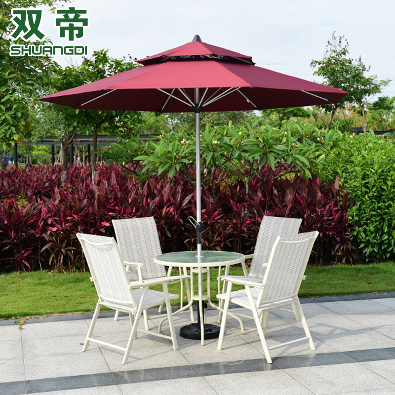 Outdoor furniture balcony patio umbrella stall Rome casual cafe in the column shade aluminum<br><br>Aliexpress