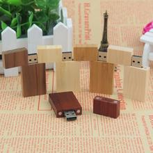 Hot Selling Wooden bamboo USB flash drive pen drives wood chips pendrive 4GB 8GB 16GB 32GB memory stick U disk personal Gift(China (Mainland))