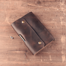 High Quality Vintage 100% Handmade Genuine Crazy Horse Leather Cowhide Cover Looes Leaf Traveler's Notebook Diary Journal Gift(China (Mainland))