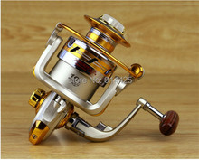 2015 New Arrival Hot 10 BB 1000-7000 Series High Quality Spinning Fishing Reel Fish Wheel Freshwater Saltwater