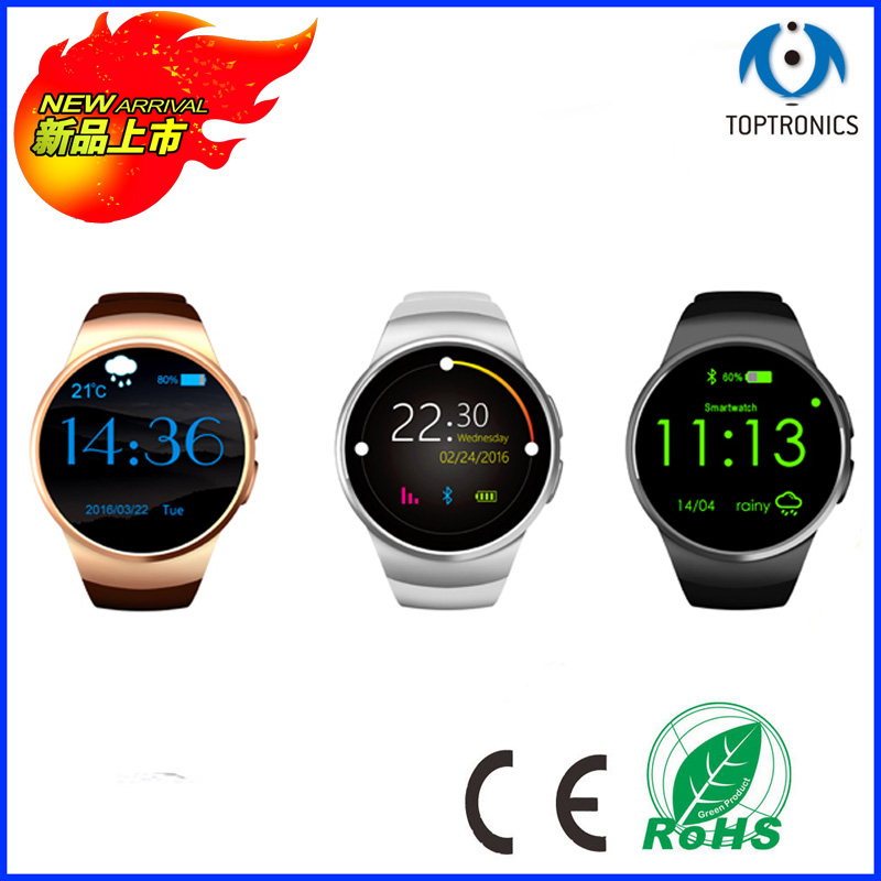 Newest high quality best price fashion style touch screen smart watch,3g bluetooth watch phone GSM waterproof gps tracking watch(China (Mainland))