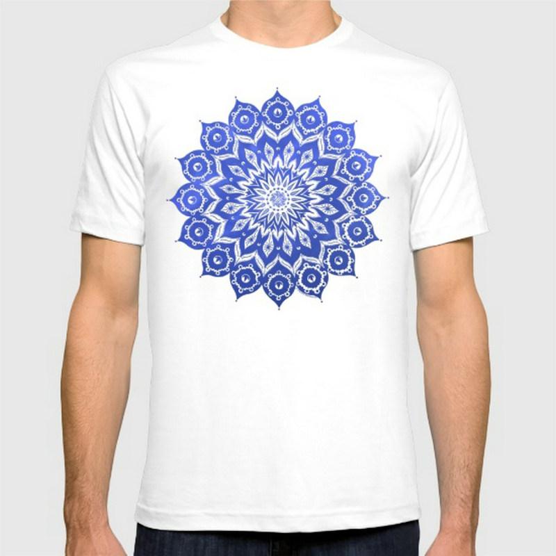 Okshirahm Sky Mandala New Fashion Men 39 S T Shirts Cotton T