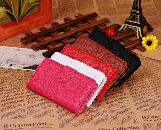 luxury High quality PU Leather Wallet case cover with Stand for SAMSUNG Galaxy S4 i9500 with 4 colors Free shipping