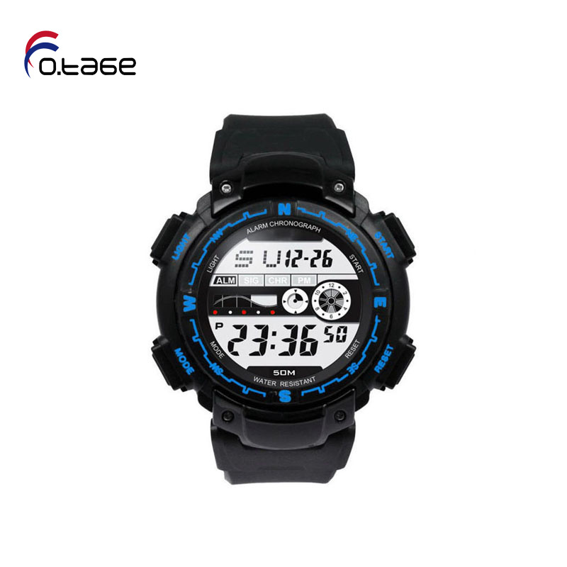 O.TAGE Lowest price Stylish Unisex Digital Watches Men Sports Watches Women Dress Watch news paper wristwatch Design hours(China (Mainland))