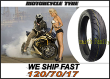 Motorcycle Road Tubeless vacuum tires tyres for motocross cross motorcycle front tire tyre 120/70/17 120/70-17 120 / 70 / 17(China (Mainland))