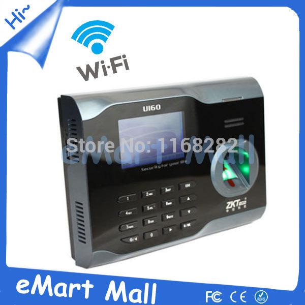 Hot selling! Free shipping biometric fingerprint U160/IC time clock with wifi<br><br>Aliexpress