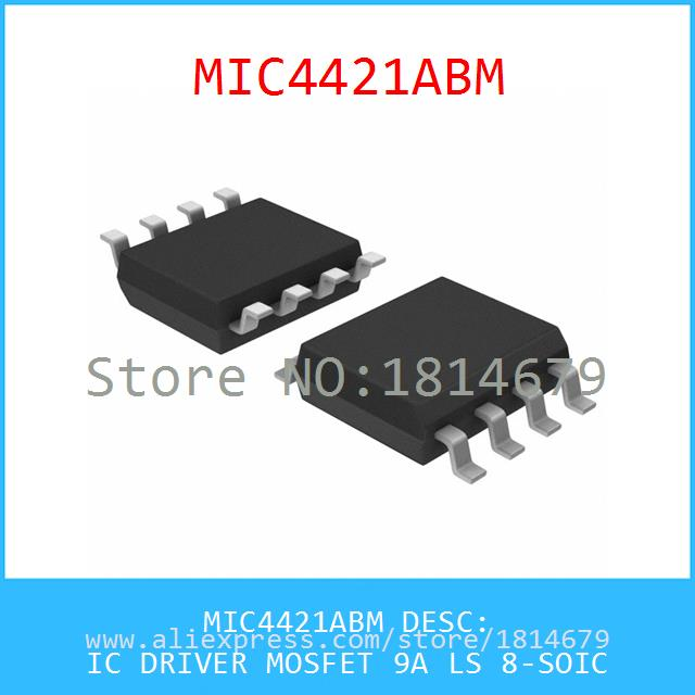 MIC4421ABM IC DRIVER MOSFET 9A LS 8-SOIC 4421 MIC4421  -  ABC Elections store